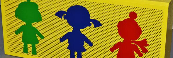 Экраны радиаторов для детских садов