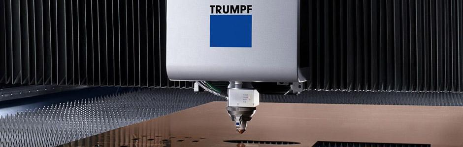 Laser cutting metal sheet