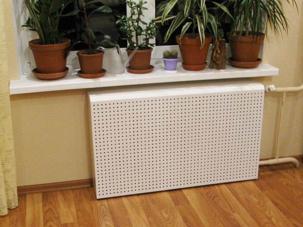 решетки на радиаторы отопления металлические цена